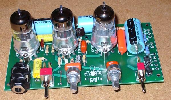 Firefly 1 5W Tube Amp Build