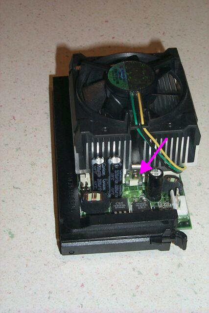 powerleap pl t heatsink repair
